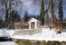 Schloss Kochberg: Winterfotos