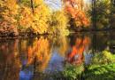 Fotografieren im Herbst: Farbenspiele auf dem Wasser