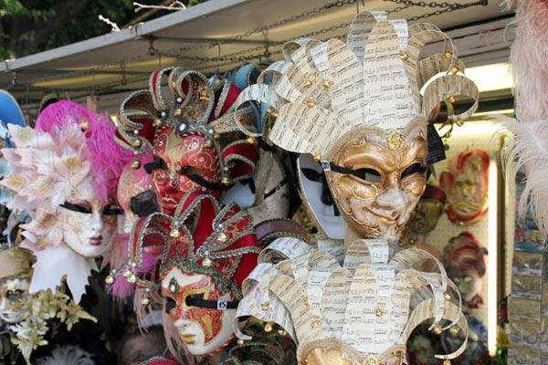 Masken von Venedig